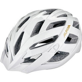 Alpina Panoma Classic Kask rowerowy, white-prosecco